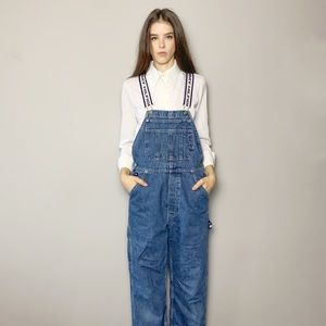 Tommy Hilfiger overall with distressed hem
